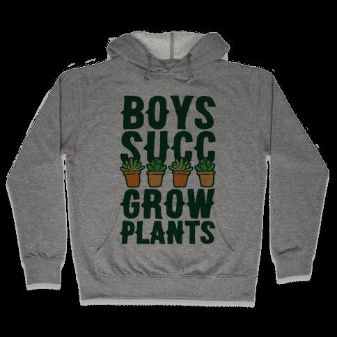 Boys Succ Grow Plants Hooded Sweatshirt