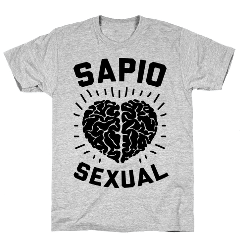 Sapiosexual Mens T-Shirt