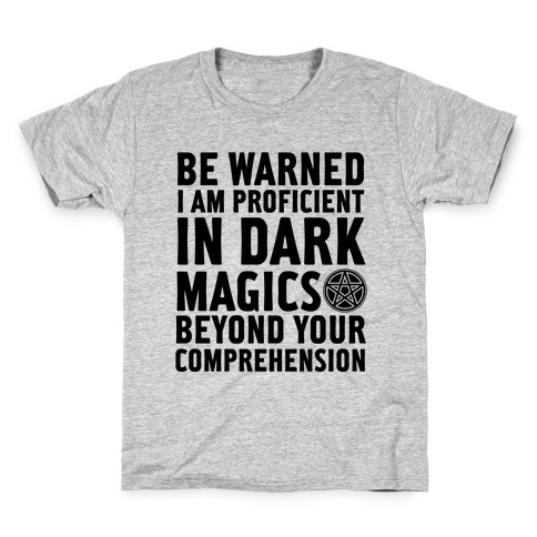 Be Warned Kids T-Shirt