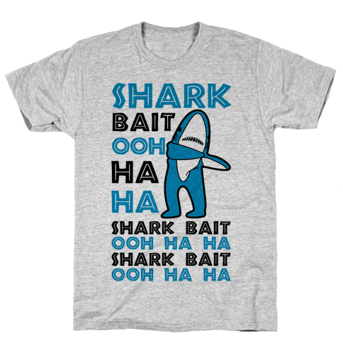 Left Shark Bait Mens T-Shirt