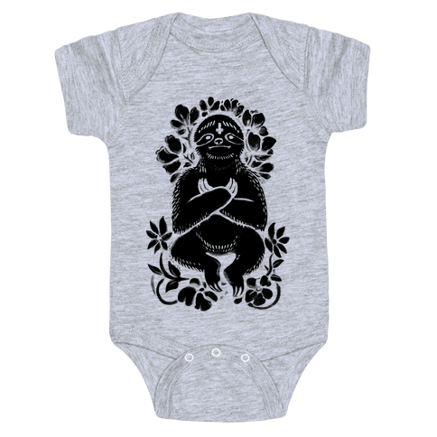 Sinful Sloth Baby Onesy