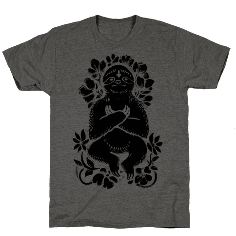 Sinful Sloth Mens T-Shirt
