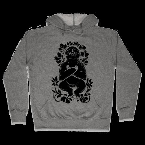 Sinful Sloth Hooded Sweatshirt