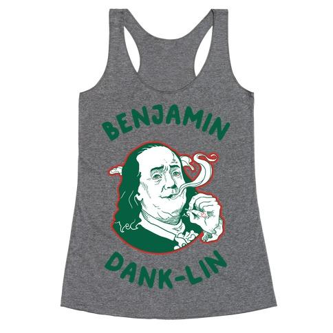 Benjamin Dank-lin Racerback Tank Top