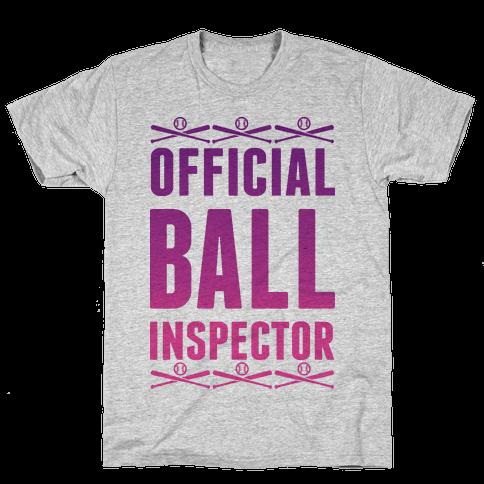 Official Ball Inspector Mens T-Shirt