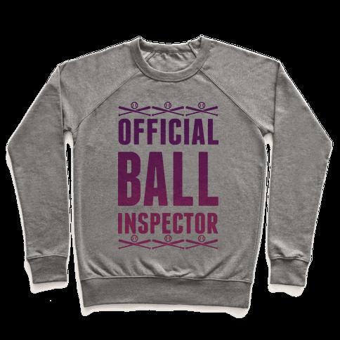 Official Ball Inspector Pullover