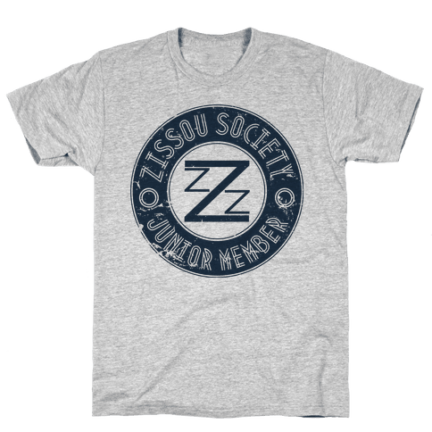 Zissou Society Junior Member Mens T-Shirt