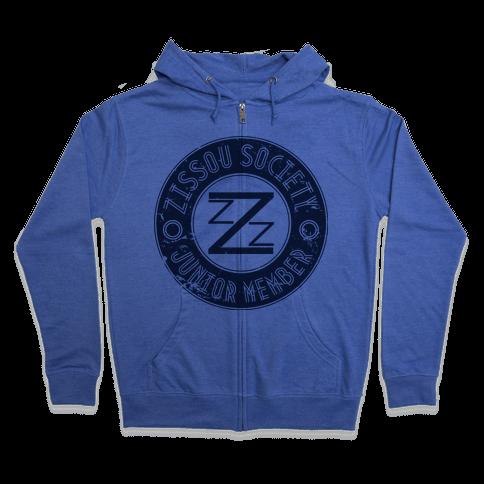 Zissou Society Junior Member Zip Hoodie