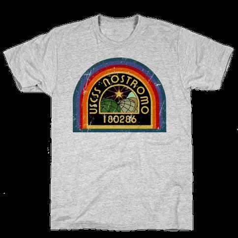 Nostromo Distressed Mens T-Shirt
