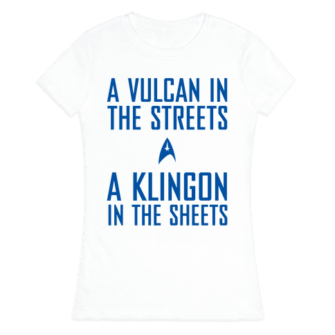 A Vulcan In The Streets Womens T-Shirt