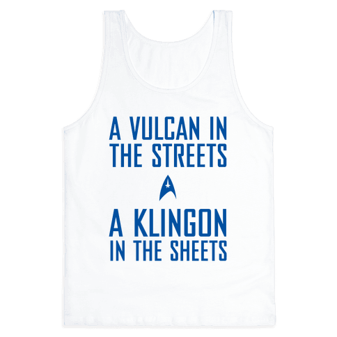 A Vulcan In The Streets Tank Top
