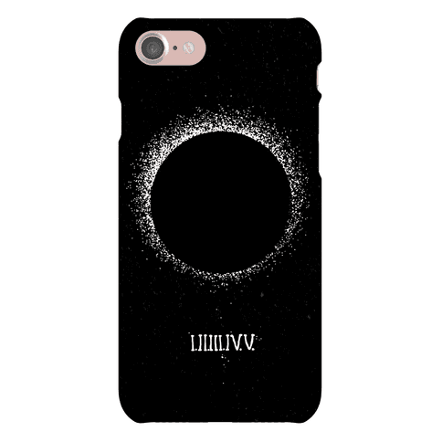 Total Eclipse Countdown Phone Case