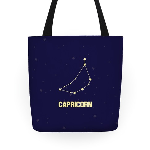 Capricorn Horoscope Sign Tote