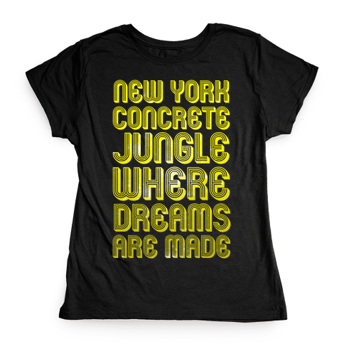 Welcome to New York Womens T-Shirt