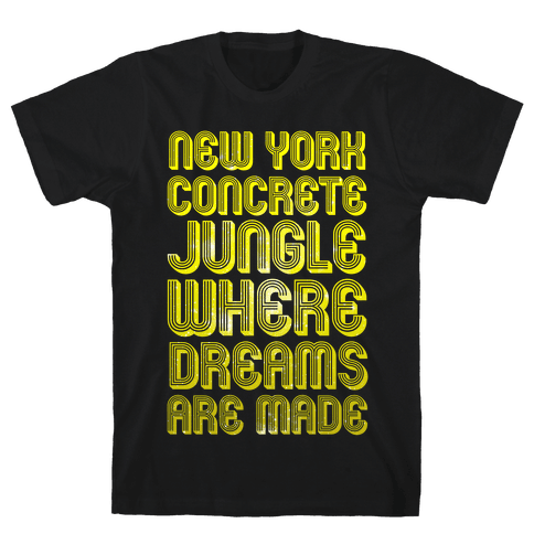 Welcome to New York Mens T-Shirt