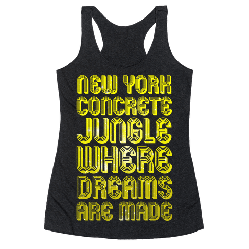 Welcome to New York Racerback Tank Top