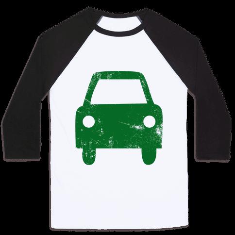 Car Baseball Tee