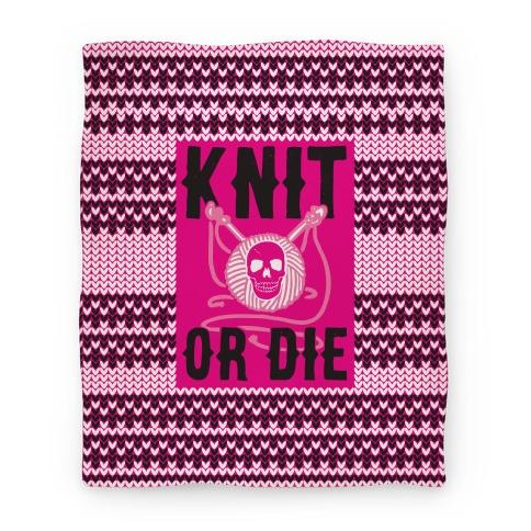 Knit or Die Blanket