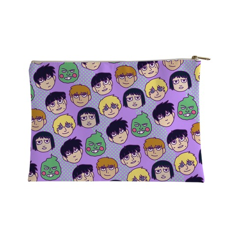 Mob Psycho 100 Pattern Accessory Bag