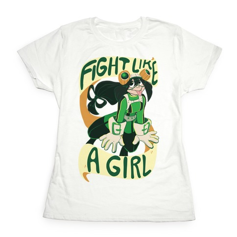 Fight Like A Girl Womens T-Shirt