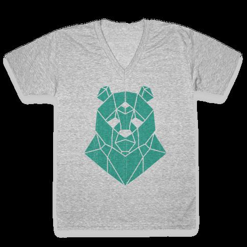 The Bear Sees All V-Neck Tee Shirt