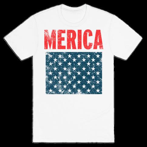 Merica Mens T-Shirt