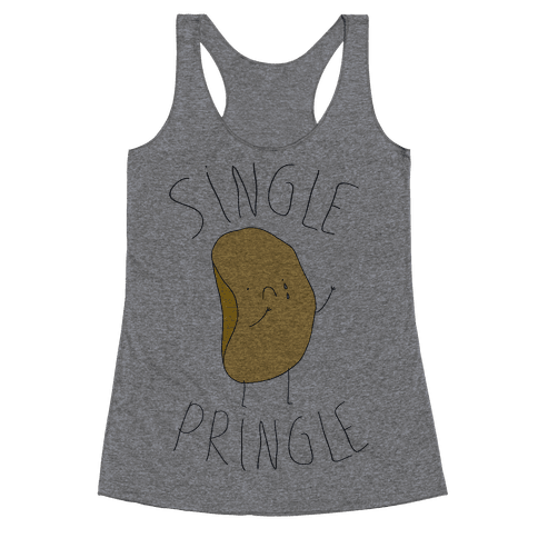 Single Pringle Racerback Tank Top