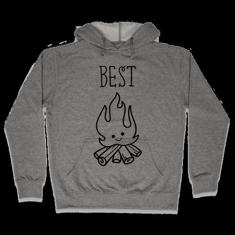Best Friends Campfire 1 Hooded Sweatshirt