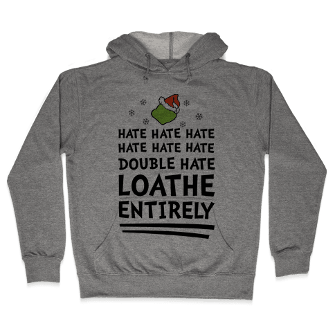Loathe Entirely Hooded Sweatshirt