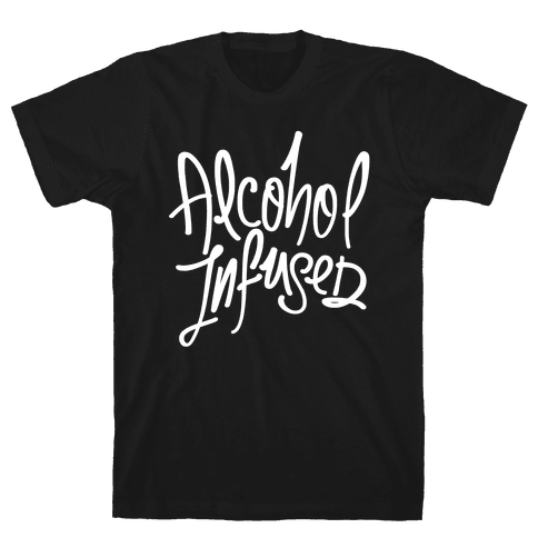 Alcohol Infused Mens T-Shirt