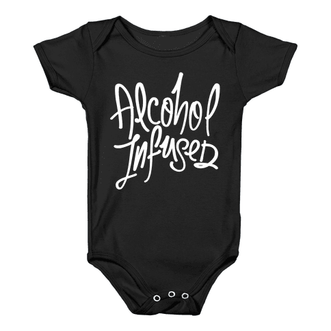 Alcohol Infused Baby Onesy