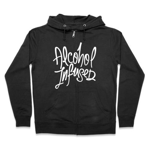 Alcohol Infused Zip Hoodie