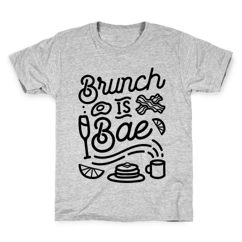 Brunch Is Bae Kids T-Shirt