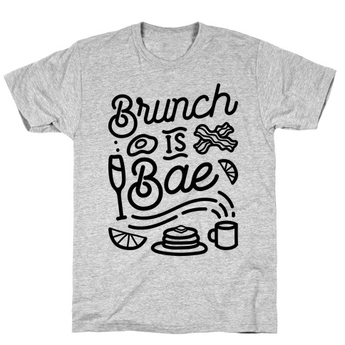 Brunch Is Bae Mens T-Shirt
