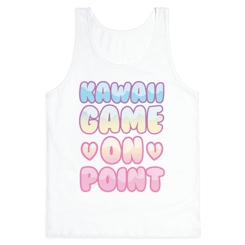 Kawaii Game On Point Tank Top