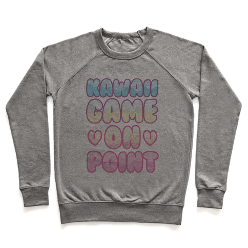 Kawaii Game On Point Pullover