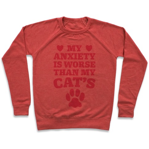 Cat Anxiety Pullover