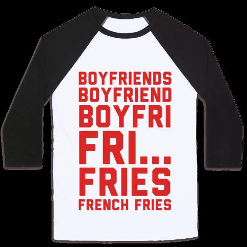 Boyfriends.. Baseball Tee