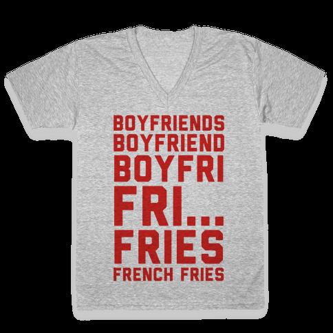 Boyfriends.. V-Neck Tee Shirt