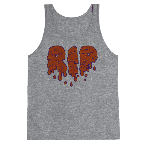 RIP Orange Slime Tank Top