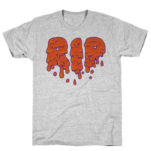 RIP Orange Slime Mens T-Shirt