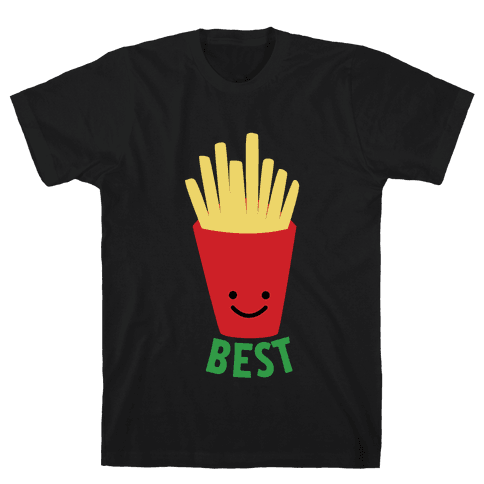 Best Fries Mens T-Shirt