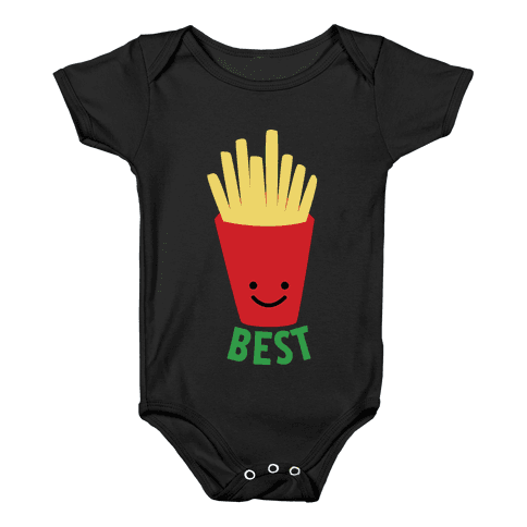 Best Fries Baby Onesy
