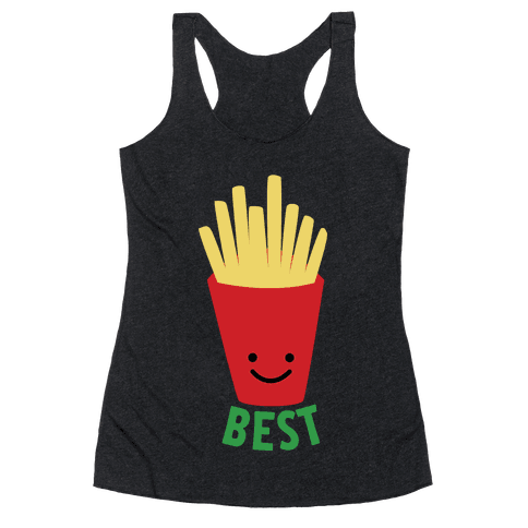 Best Fries Racerback Tank Top