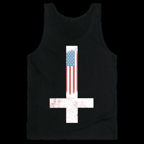 Satanic America Tank Top