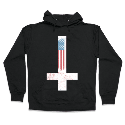 Satanic America Hooded Sweatshirt
