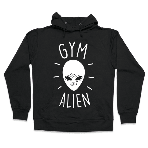 Gym Alien Hooded Sweatshirt