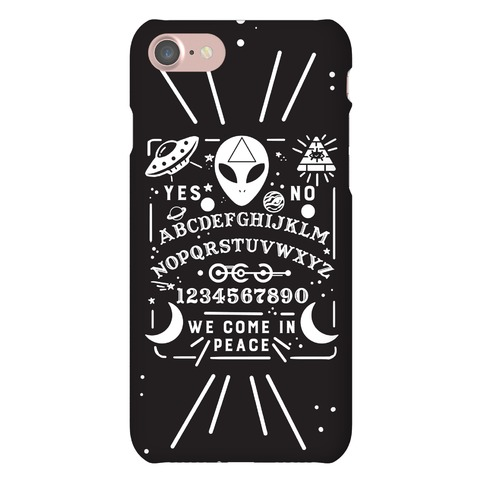 Occult Alien Ouija Board Phone Case