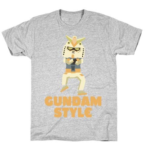 Gundam Style Mens/Unisex T-Shirt