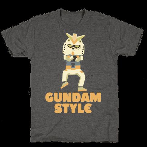 Gundam Style Mens T-Shirt